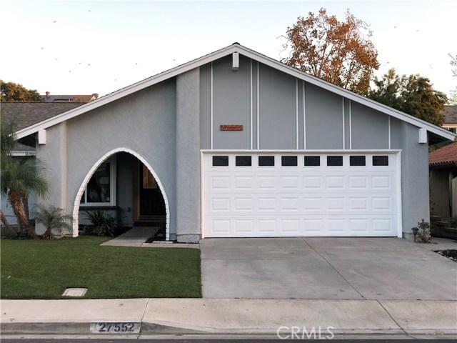 27552 Bocina, Mission Viejo, CA 92692