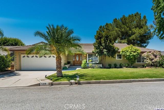 520 Meadows Drive, Glendale, CA 91202