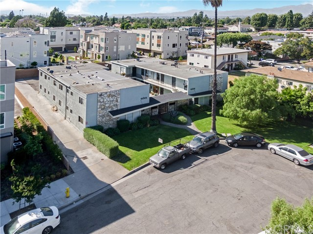 10601 Parrot Ave offers the perfect combination of convenience and seclusion. The property is largely removed from the dense neighborhoods that surround it which were mainly developed during the peak of Downey's cold-war-era expansion. The property consists of over 9,000 square feet of livable space with a unit mix of four 2-bedroom units, and twelve spacious 1-bedroom units. The building is individually metered for gas and electric and has a flat roofs on both buildings. In addition to it's close proximity to schools, employment, and enjoyment, the tenants enjoy on-site amenities including a spacious courtyard, carport parking and laundry room. With market rents a mere 15% away, a new owner should be able to achieve them in less than 2 increases.