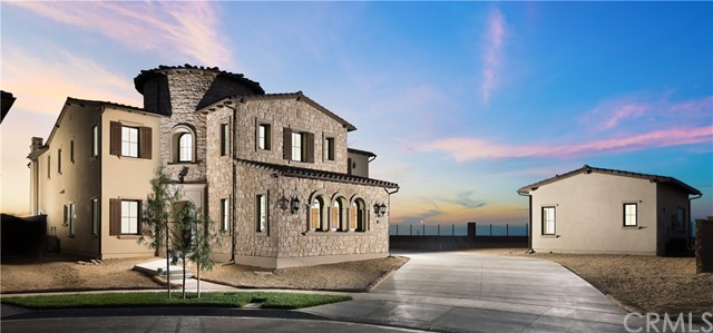 """The """"Crown Jewel"""" and most prestigious of estate homes in the new, nationally-acclaimed Hidden Canyon, sits majestically at the top of the hill on an expansive $1 million PREMIUM 17,646 sq ft LOT providing one of THE BEST views in ALL of Irvine! Nestled on a quiet, private cul-de-sac, the home features 7 bedrooms, 7.5 baths, a conservatory, loft, 4 car garage, and an additional Guest House with a bedroom, bath, and living area. Upon entering the elegant foyer, with high ceilings and grand staircase, one is immediately attracted to the beautiful upgrades and open floor plan. The large windows and pocket doors draw you into the expansive luxury of the home, with stunning views from nearly every room. The gourmet kitchen hosts a large island and the finest of appliances including a """"Wolf"""" stove and """"Sub-Zero"""" double-wide door refrigerator, framed by gorgeous """"Taj Mahal"""" stone countertops and back-splashes. Downstairs bedroom with full bath. Upgraded flooring, designer paint, and custom countertops and cabinets continue throughout the home. Spacious master provides an oasis of comfort. The 24/7 guard-gated community with world-class amenities, 5-star resort clubhouse, zero-edge swimming pool, fully-furnished cabanas with large screen tvs, local park, tot lot, and more! Minutes from world-class shopping, entertainment, John Wayne Airport, and Laguna and Newport Beach. In the award-winning Irvine University High School District. Ready access to the 405, 5 and 133 Freeways!"""