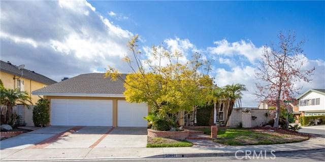 25841 La Cuesta Avenue, Laguna Hills, CA 92653