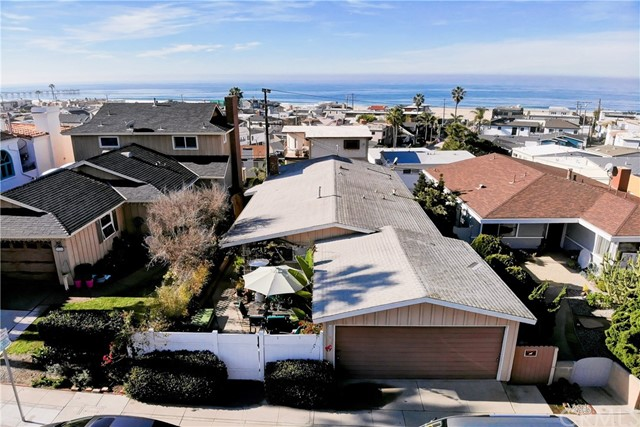 "Are you tired of finding nothing but ""Peek-a-boo"" ocean views?  Or, frustrated by finding great views, only to be restricted from building your DREAM HOME by current duplex or triplex use?  Come discover unblock-able, sweeping ocean views from this RARE 40' WIDE Sand Section SFR LOT.  This 3,616 square foot lot offers a panorama that includes views of Catalina, Palos Verdes, the Hermosa Pier, white water and the ocean all the way to the Pacific Palisades, Malibu and Point Dume. It is located within two blocks of the beach and close to all of the great community activities and dining options centered in Pier Plaza. Build the home of your dreams and enjoy the breathtaking west facing ocean and sunset views for life. The current home is an original, beautifully maintained beach bungalow. Enjoy it now, or lease it out, while you get your plans ready to build.  A height profile study, property surveys of both the subject property and the surrounding homes are available for review to provide clarity on view permanency. Also available are suggested plans for a new, approximately 4800sf, 5 bedroom, 6.5 bath dream home with pool, full basement including theatre, wine bar, guest suite, and game room with yard access.  All of this within an award winning school district with choice of high schools  - MCHS or RUHS.  Also, the city of Hermosa Beach has approved a Convex ruling determination which dramatically improves the views and top floor plate depth."