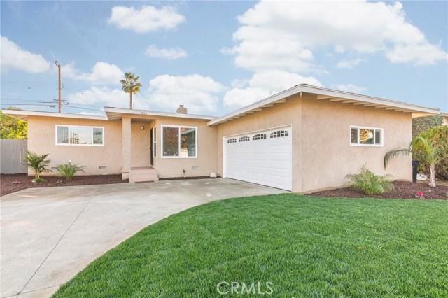 406 W Hill Avenue, Fullerton, CA 92832