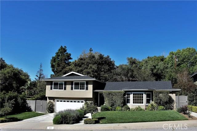 315 Sierra Woods Dr., Sierra Madre, CA 91024