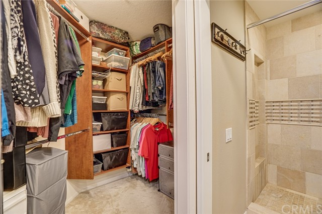 A Walk-in Closet is always a welcome feature.