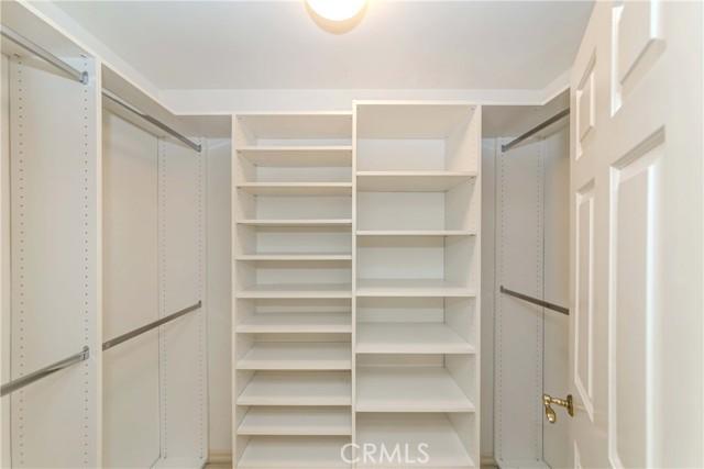his/her closet