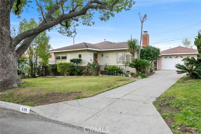 639 Roselli Street, Burbank, CA 91501