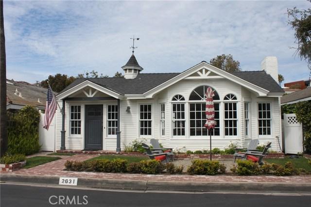 2631 Crestview Drive  Newport Beach, CA 92663