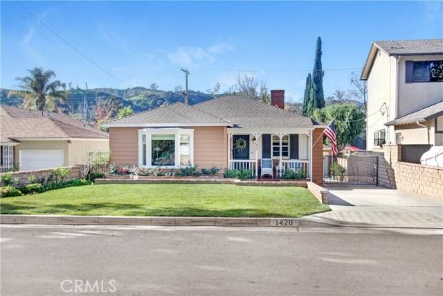 1420 Fairfield Street, Glendale, CA 91201