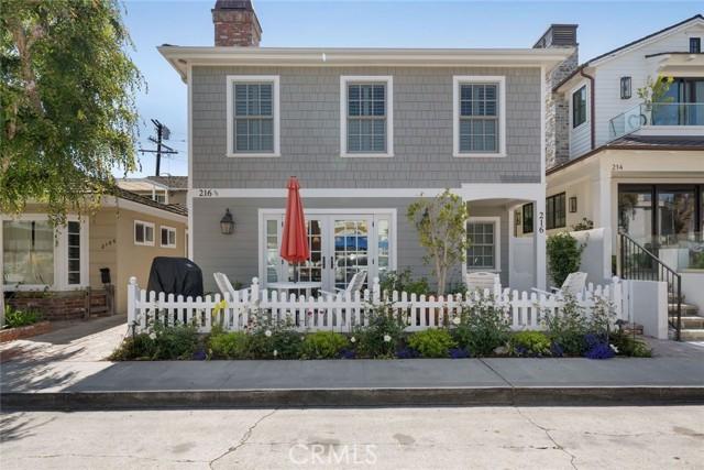 216 Agate, Newport Beach, CA 92662