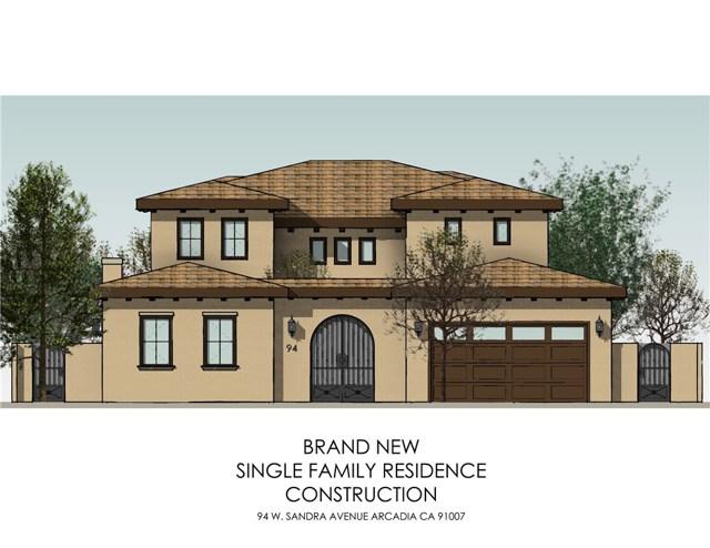 94 W Sandra Avenue, Arcadia, CA 91007