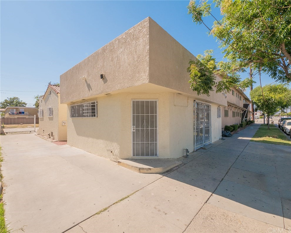 Welcome to 8615 State St in the City of South Gate.  Here is the investment opportunity you have been waiting for all year!  This mixed use duplex is comprised of 1) a storefront retail unit with its own bathroom (plenty of space to add a shower) along with 2) a 2nd residential unit with 2 bedrooms & a bonus room (previously used as a 3rd bedroom) & 1 full bath.  This is your opportunity to start the business you have always wanted OR expand your current business to another location OR live in the rear residential unit and enjoy the cash flow from the currently rented retail space.  The opportunities with this unique property don't end here....DEVELOPMENT OPPORTUNITY as Property is zoned SGCR.*  Due to the current zoning, the property's unique location, lot size etc. the City of South Gate may allow an owner to build anywhere from 2 to 4 units (Buyer to verify buildability details etc with the City).  The Residential unit is quite spacious w a separate living room, dining room, galley kitchen, indoor laundry room & 2 spacious bedrooms...3rd room was last used as a bedroom. Huge backyard just waiting for a new owner to transform this open space to build units, park tons of cars, an RV or design your very own garden oasis...Excellent location. Close to several parks & schools.  Steps away from several Metro bus lines & has a WalkScore© of 78. This property can qualify for FHA financing.