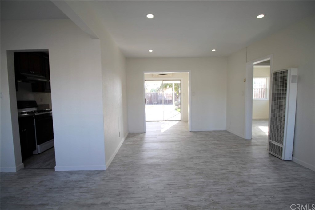 Single-story starter home features 2 bedrooms and 1 bathroom with new flooring, newer roof, new interior paint, cherry wood cabinets, granite countertops in the kitchen, single-car attached garage with direct access, laundry hookups, nice size backyard, shed, and fruit trees. Convenient freeway access. Walking distance to schools and shopping. Motivated seller! Bring all offers. FHA approved as little as 3.5% down.