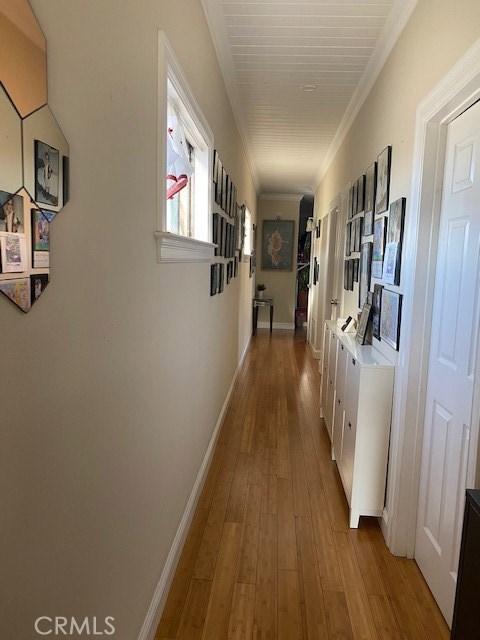 Apartment 5 hallway