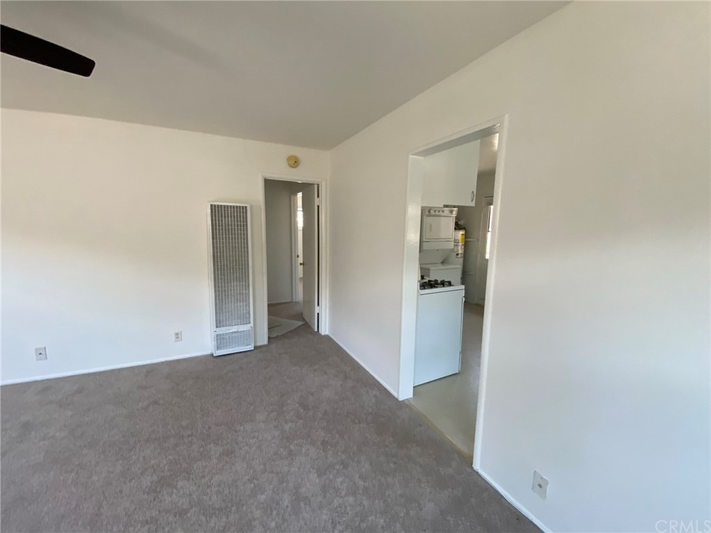 Doorways to kitchen and bedrooms.