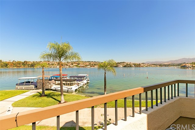"VIEW-VIEW-VIEW!!! A very rare opportunity to lease a remodeled, lakefront penthouse with 2 bedrooms plus an additional loft bedroom with closet (3 sleeping spaces). There are only 16 of these on the entire lake which include the main level master suite! This location and view is clearly the ""best of the best"" on Lake Mission Viejo. Sweeping lakefront views from 'end to end' of beautiful lake Mission Viejo. Excellent location walk-in level with no stairwells (2 steps before front entry) and no one above! Tall cathedral ceilings and an excellent open floor plan. Beautifully updated with modernized granite kitchen and bathrooms, porcelain tile w/travertine pattern, update fixtures and more! Includes inside laundry closet side by side, fireplace, central air, custom window coverings & more! Enjoy the gated lakefront community of Finisterra on the Lake only steps to the community beach and a short walk to the community pool. Garage parking right in front of this condo makes life very easy coming and going. Lake amenities include world-class fishing, paddle boarding, kayaking, swimming, summertime concerts and holiday festivities. Note: water and trash utilities are included in rent (paid by landlord thru HOA fees). Truly, The Best of the Best!"