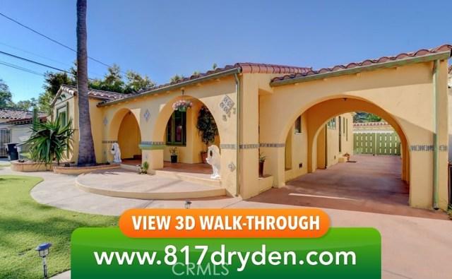 817 W Dryden Street, Glendale, CA 91202