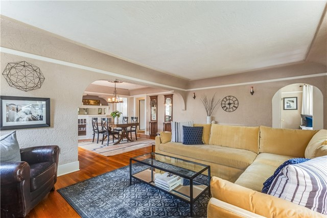 924 N. Olive Street-Living Room