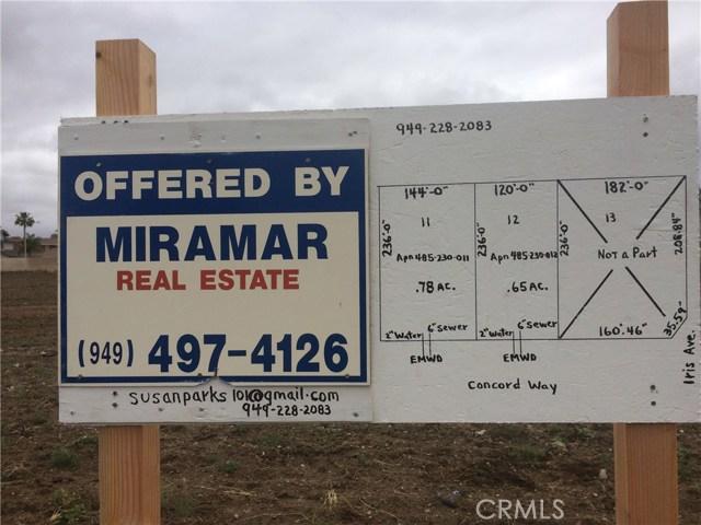 0 Concord Way, Moreno Valley, CA 92551