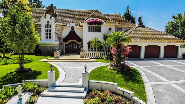 6970 E Avenida De Santiago, one of homes for sale in Anaheim Hills