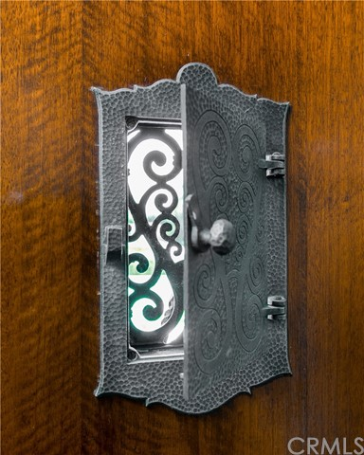 Interesting Hardware Detail for Front Door Viewer
