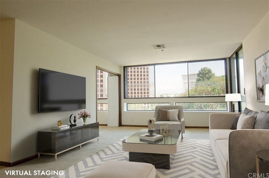 Virtual Staging in Living Room