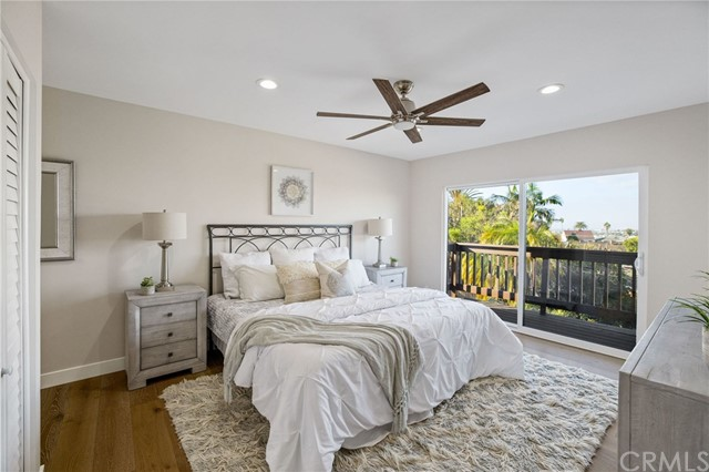 Enjoy views from the upper bedroom/ 2nd master suite