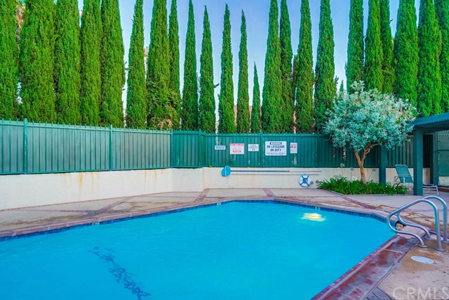 Community pool just steps away from your unit