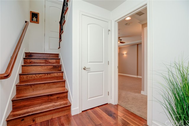 Hall to lower bedroom