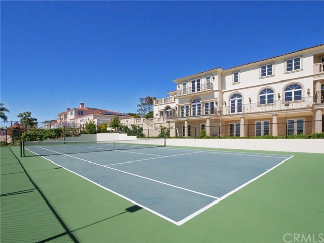 North-South Tennis Court