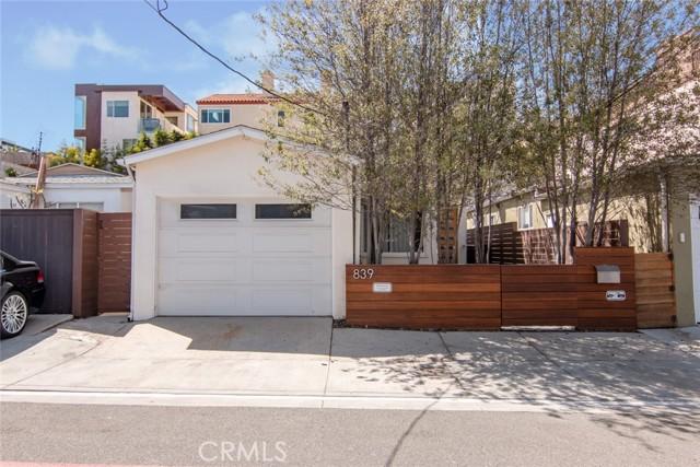 839 Cypress Avenue, Hermosa Beach, California 90254, 3 Bedrooms Bedrooms, ,2 BathroomsBathrooms,For Rent,Cypress,SB21071575