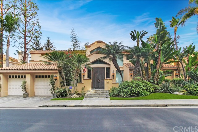 14 Canyon Fairway Drive, Newport Beach, CA 92660