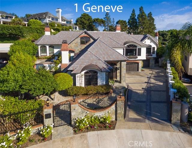 1 Geneve, Newport Beach, CA 92660