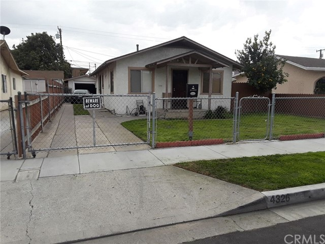 4326 E 54th Street, Maywood, CA 90270