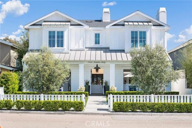 460 Santa Ana Avenue, Newport Beach, CA 92663
