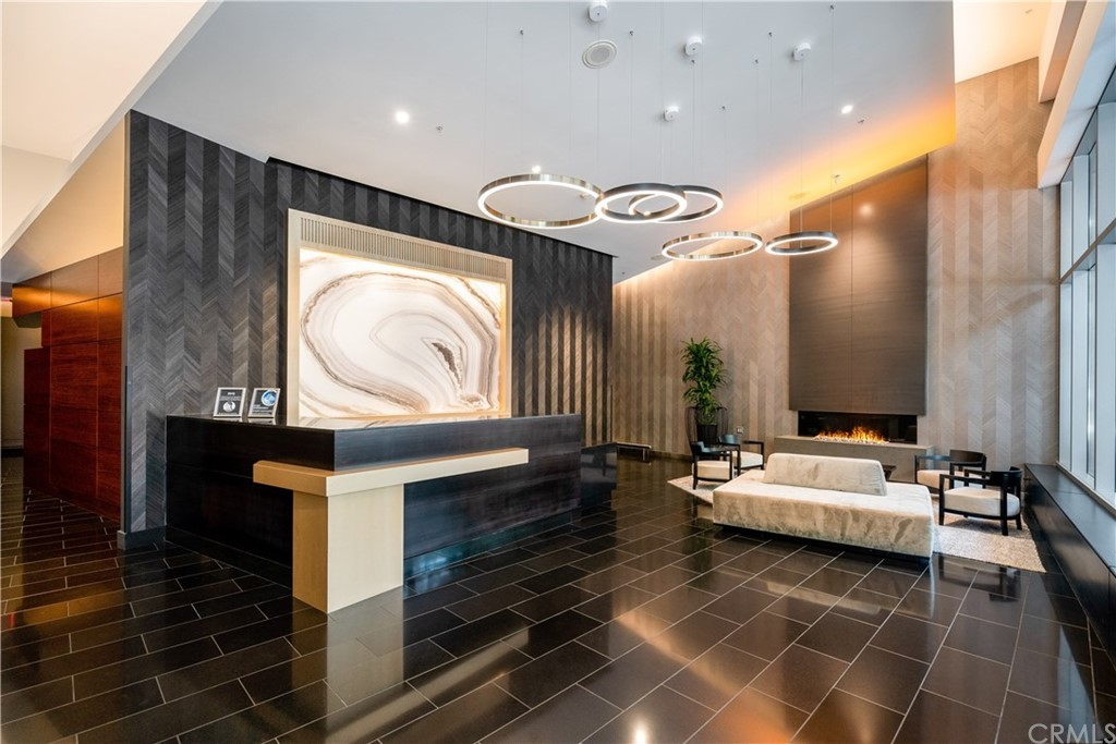 Grand Reception Lobby with Attendant