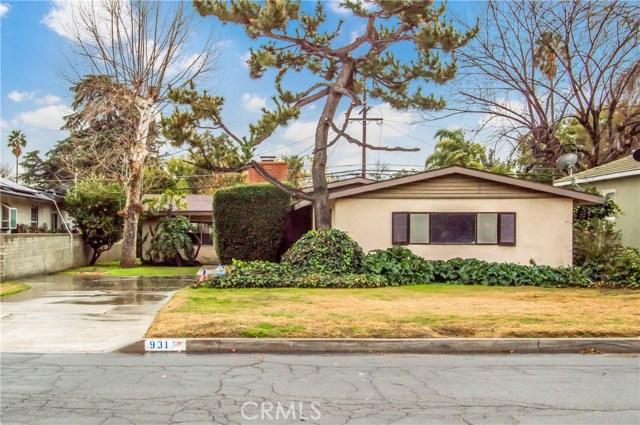 931 W Edgemont Drive, San Bernardino, CA 92405
