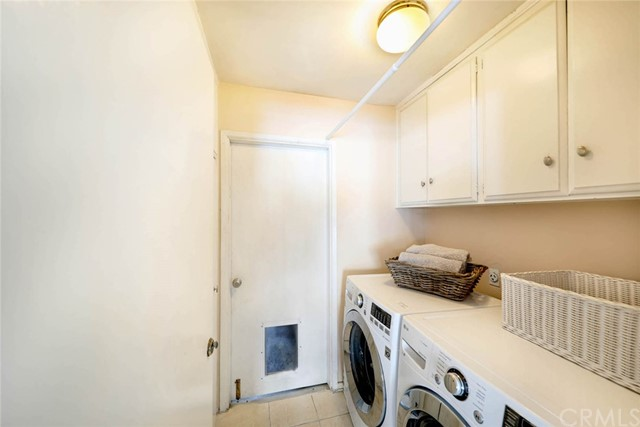 Indoor Laundry Room & storage