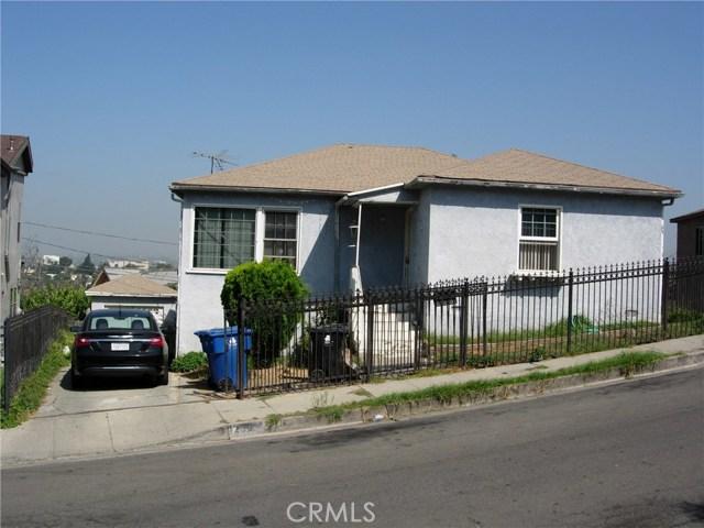 1239 N Stone Street, Los Angeles, CA 90063