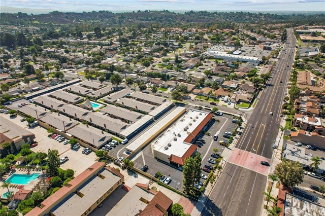 Well maintained retail property located on main thoroughfare (Brea Blvd), at the border of Fullerton / Brea. High daily traffic. Property is fully leased to 8 individual tenants, with approximately 60 parking spaces.  Public bus transportation located directly in front of property.