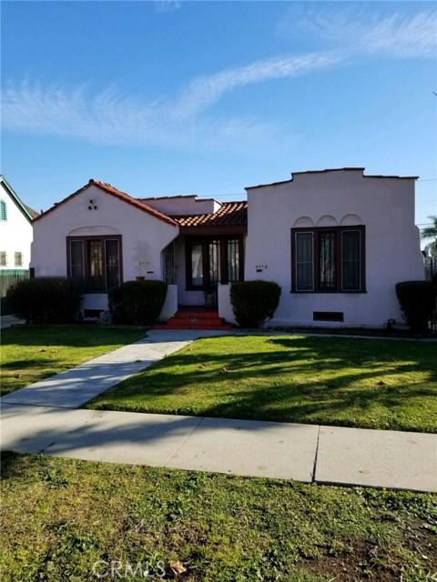 8710 S Denker Avenue S, Los Angeles, CA 90047