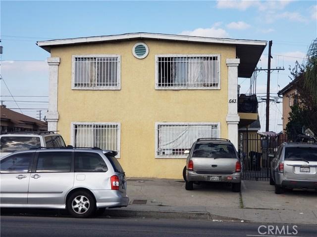 643 W Imperial, Los Angeles, CA 90044
