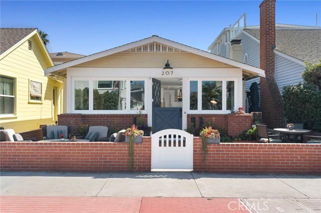207 E Bay Avenue, Newport Beach, CA 92661
