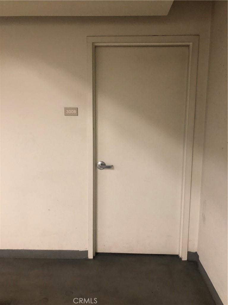 Deeded Private Storage Room behind parking