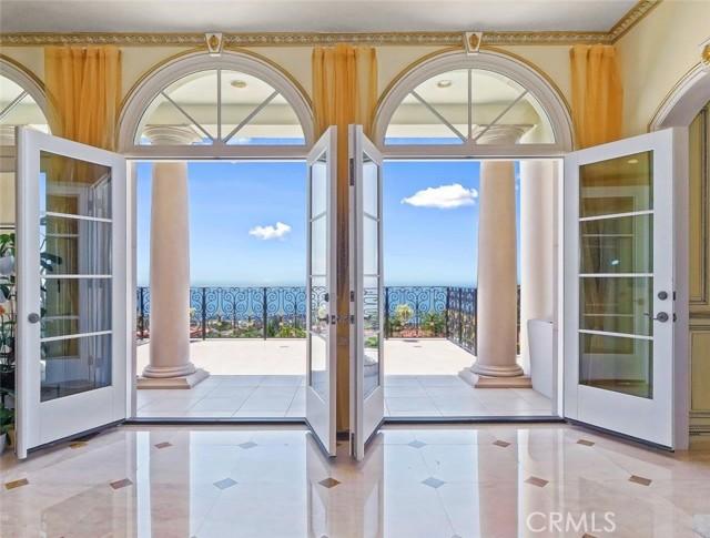 Door Open to Upper Balcony