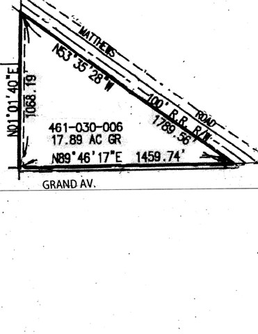 This PRIME INDUSTRIAL property is 100% flat and useable. ALL UTILITIES AVAILABLE AT SITE. Winchester Hills Specific Plan (#: 293) has property zoned as Industrial Medium. This property is located at northwest corner of Grand and Matthews (Case). This property is parcel C of Lot Line Adjustment #:180038 and is 17.89 gross acres. After dedication of the north one-half of Grand this parcel is 16.89 net acres. The listed price is $4.08/net square foot.This PRIME INDUSTRIAL property is 100% flat and useable. ALL UTILITIES AVAILABLE AT SITE. Winchester Hills Specific Plan (#: 293) has property zoned as Industrial Medium. This property is located at northwest corner of Grand and Matthews (Case). This property is parcel C of Lot Line Adjustment #:180038 and is 17.89 gross acres. After dedication of the north one-half of Grand this parcel is 16.89 net acres. The listed price is $4.08/net square foot.