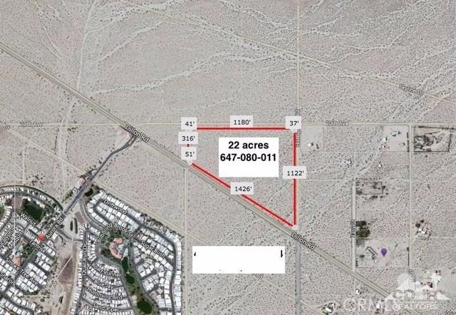 0 22 Acres Dillon & Hot Springs, Desert Hot Springs, CA 92241