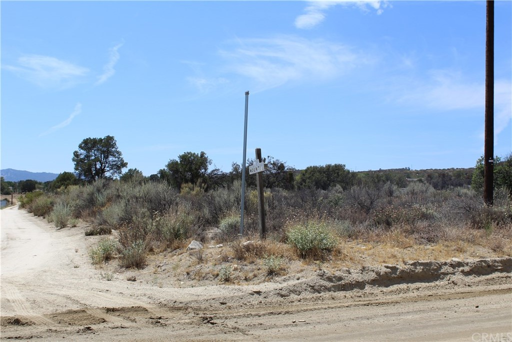 Design and build your dream home on this lovely, usable corner piece of land easily accessible by one of two well-maintained roads. Conveniently located near Anza Village and a few blocks from elementary through high schools. Property sits at approximately 4,200 feet elevation, the perfect platform from which to take in breathtaking views of Cahuilla and Santa Rosa Mountains and surrounding hills. Come home to a setting of mature Pinyon trees, oaks and other native plants. Enjoy country living while being within driving distance of major cities and popular recreational locales such as Thomas Mountain.