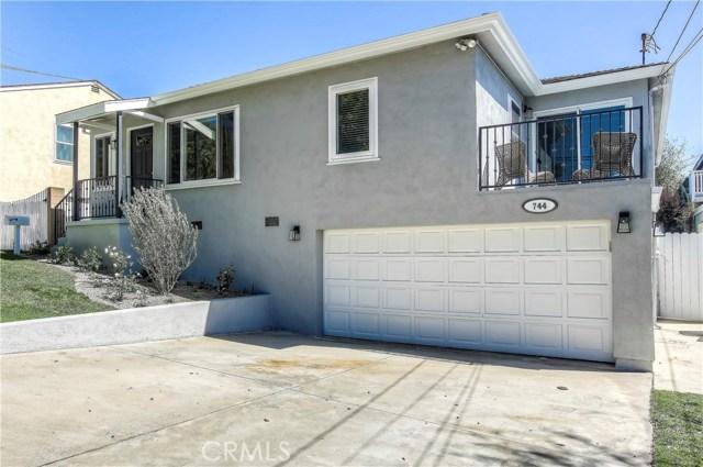 744 Sheldon Street, El Segundo, CA 90245