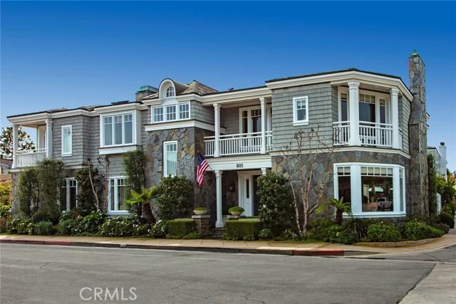 805 Via Lido Nord, Newport Beach, CA 92663